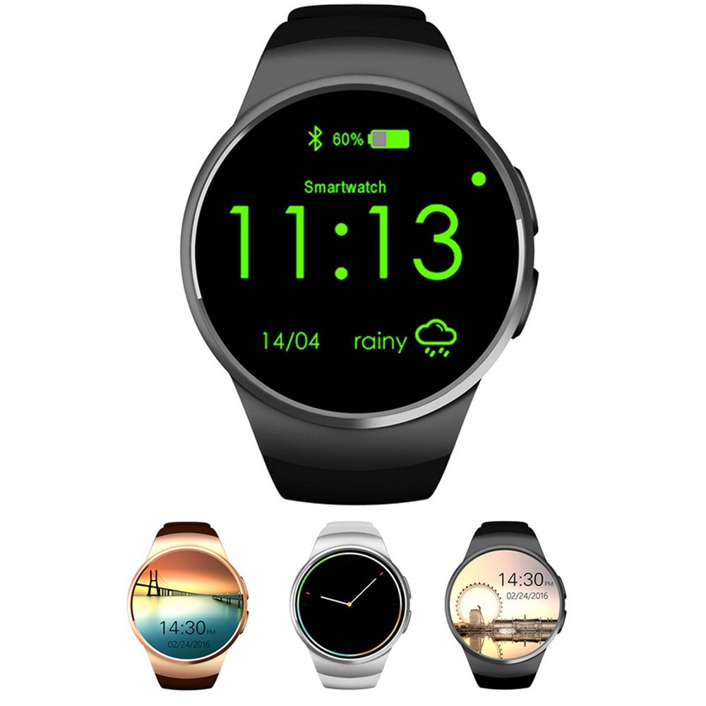 Beseneur KW18 Bluetooth Smart Watch full screen Support SIM TF Card Smartwatch Heart Rate for Android IOS phone huawei xiaomi