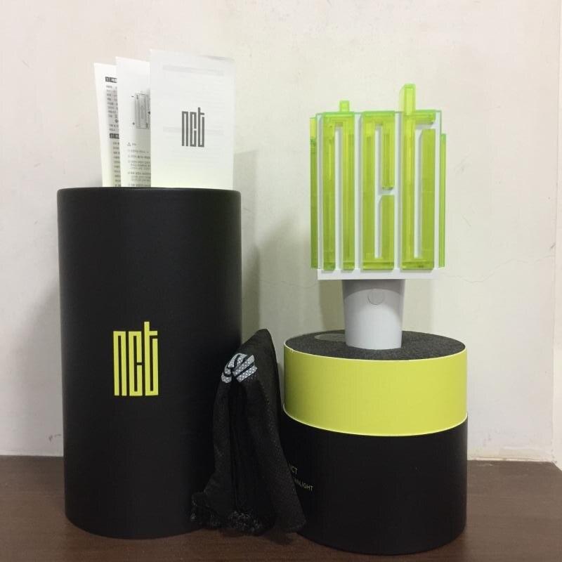 مصباح مروحة Hiphop Lightstick ، NCT Kpop LED ، 2019 ، مصباح الحفلة الموسيقية ، عصا الفلورسنت ، مروحة هدية
