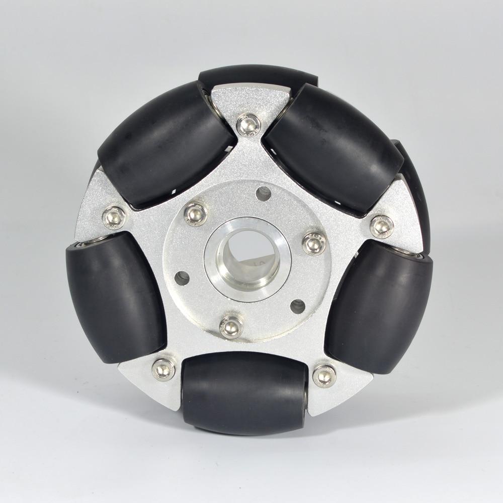 Omni-بكرات محمل عجلات ألمنيوم شديدة التحمل 127 مللي متر ومحمل مركزي 14146
