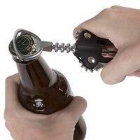 Многофункциональный Открыватель 5 в 1 покрытием Сталь крыло наберется 6,5 дюймов штопор открывалка для бутылок Cerveja Abridor De термос-бутылка вина...
