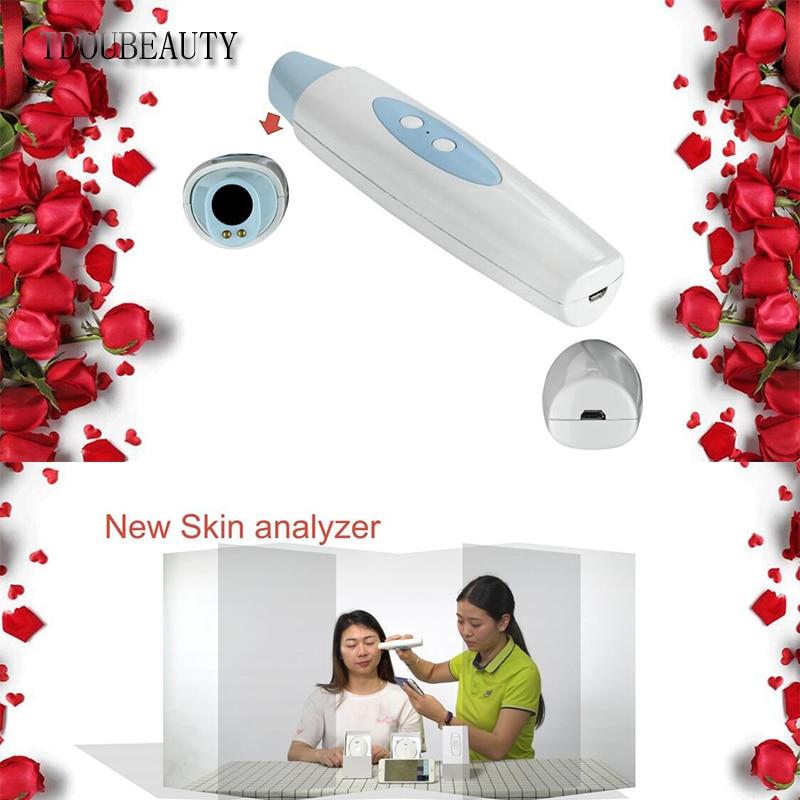 TDOUBEAUTY 2020 New M-558 Ultra HD High-tech Wifi Scalp Hair Microscope Analyzer Skin Detector Analyzer Camera Free Shipping