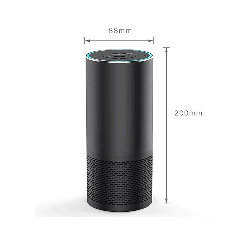 Link-Face AI Speaker Wireless Bluetooth Speaker Wifi Smart Speaker Music Player Alexa Speaker Voice control Wake Up Sleep Assist enlarge