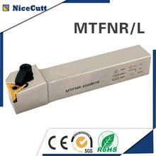 MTFNR/L2525M16 Nicecutt porte-outil de tournage externe pour TNMG porte-outil de tour dinsertion