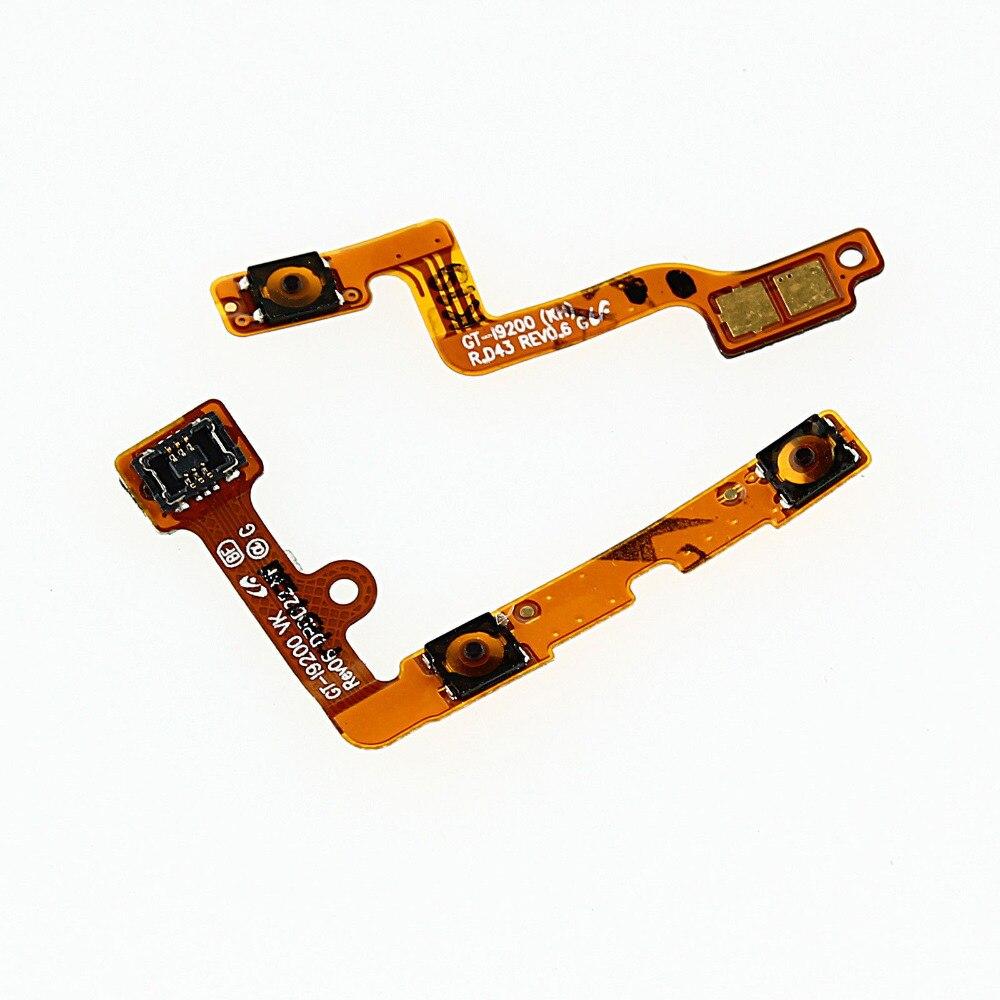 Pour Samsung Galaxy Mega 6.3 I9200 I9205 I527 L600 R960 M819N Volume dalimentation clé bouton câble flexible
