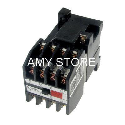 4 polos NO NC relé electromagnético CA 380V bobina 15A/110V 13A/220V