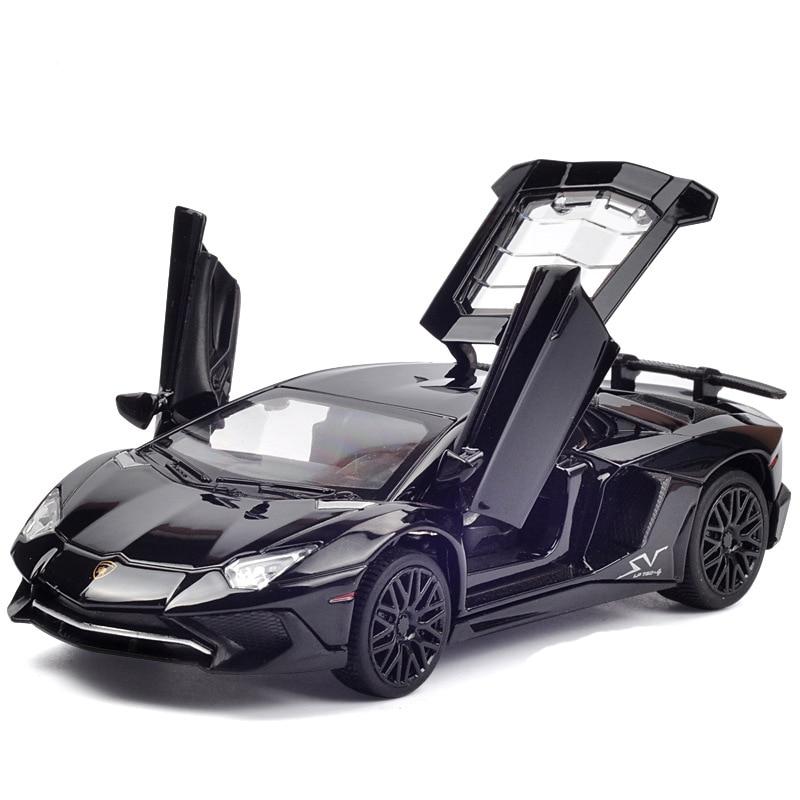 Rambo LP-750 toy alloy car models 1:32 simulation children acousto-optic car model