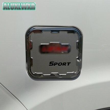 Accesorios exteriores de coche tapa de tanque de combustible decoración de embellecedor pegatinas de acero inoxidable apto para lifan marveii myway 2016 2017 2018 Up