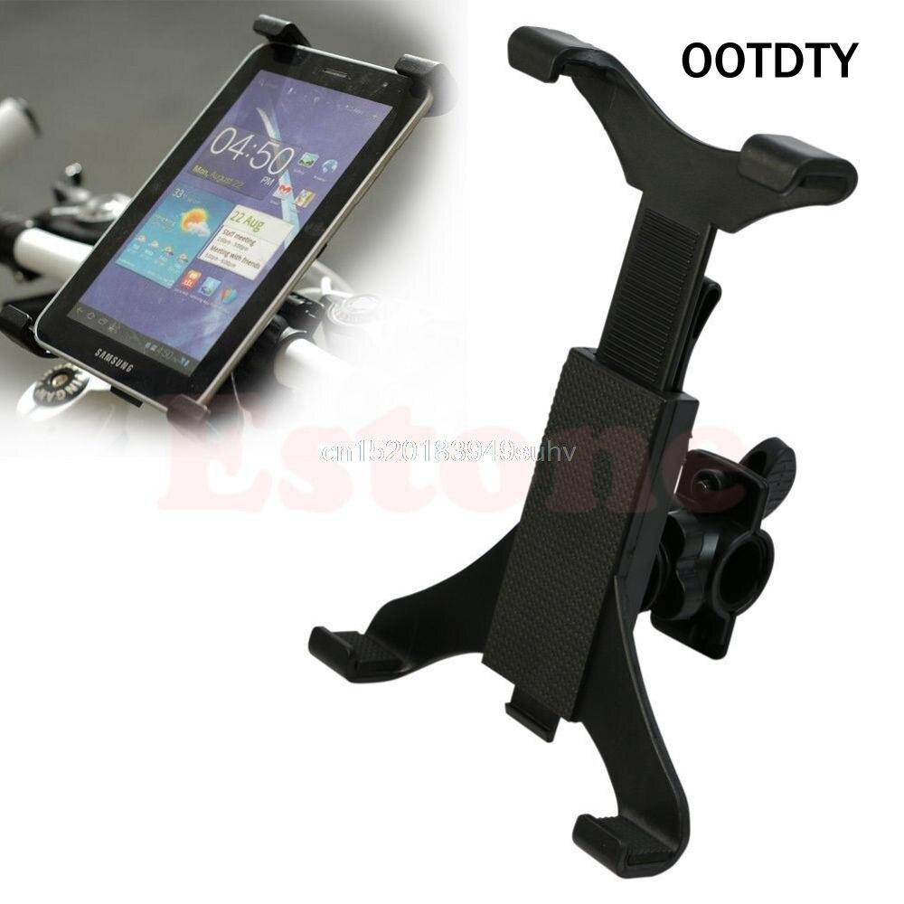 OOTDTY, bicicleta portátil, vehículo motocicleta soporte de montaje del manillar para iPad Tablet PC Stands Map Satnav