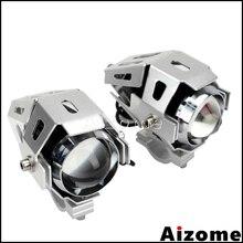 Moto U5 6000 1 paire de phares antibrouillard   Pour conduite BMW Honda Yamaha Suzuki K Spot, lampes auxiliaires