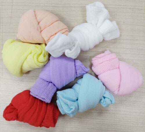 1000pairs per bag colorful try on socks  one time use socks  disposable socks