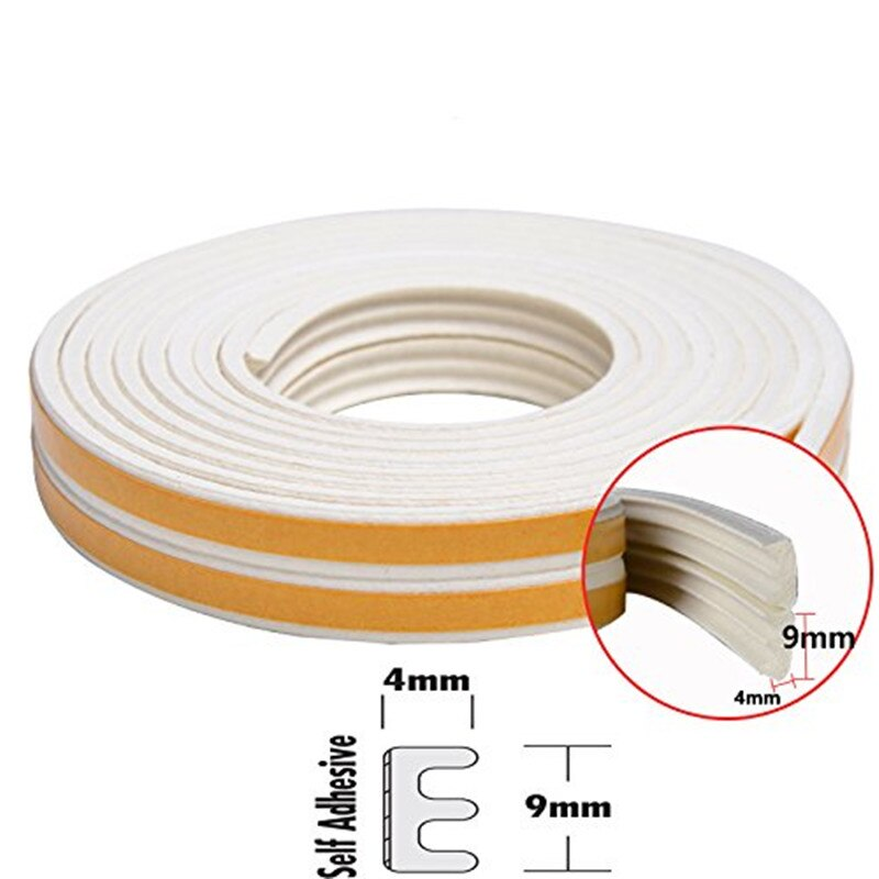 Оконная уплотнительная лента, самоклеящаяся изоляция для зачистки погоды, защита от атмосферных воздействий, комплект звукоизоляции для д...