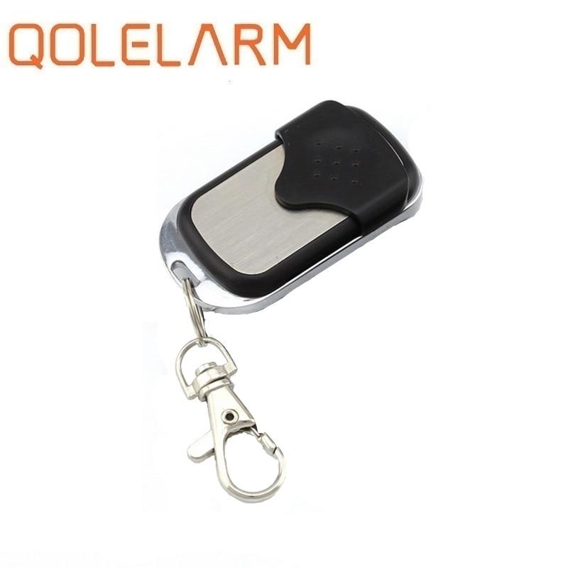 Qolelarm 1 pc/lot CE inalámbrico 433,92 MHZ copia puerta de garaje barrera copia control remoto para Gadgets Coche hogar