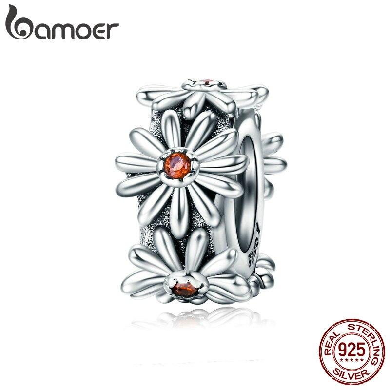 Браслет и ожерелье BAMOER SCC598, из 100% 925 пробы серебра