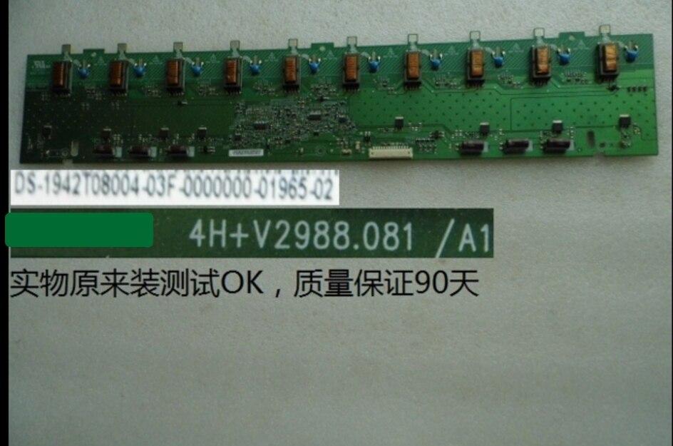 V298-701 4h + v2988.081/a1 t-con placa de alta tensão para 42t08.004 t420hw06 T-CON conectar placa