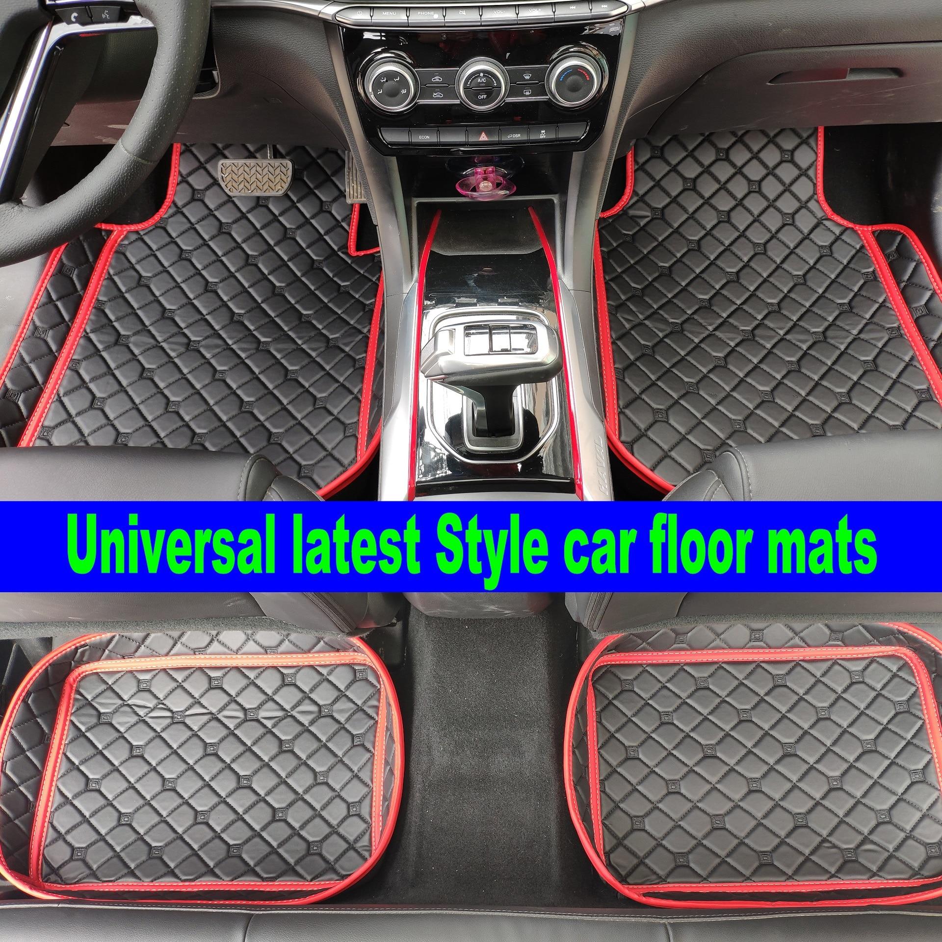 Universal alfombra del coche para ford fiesta se mk2 explorer kuga Fusion ranger mondeo ecosport, 4 accesorios, Esteras del