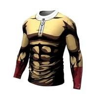 one punch man t shirt 2021 cool design anime men t shirt saitama sensei t shirt 3d printed casual short long sleeve tee