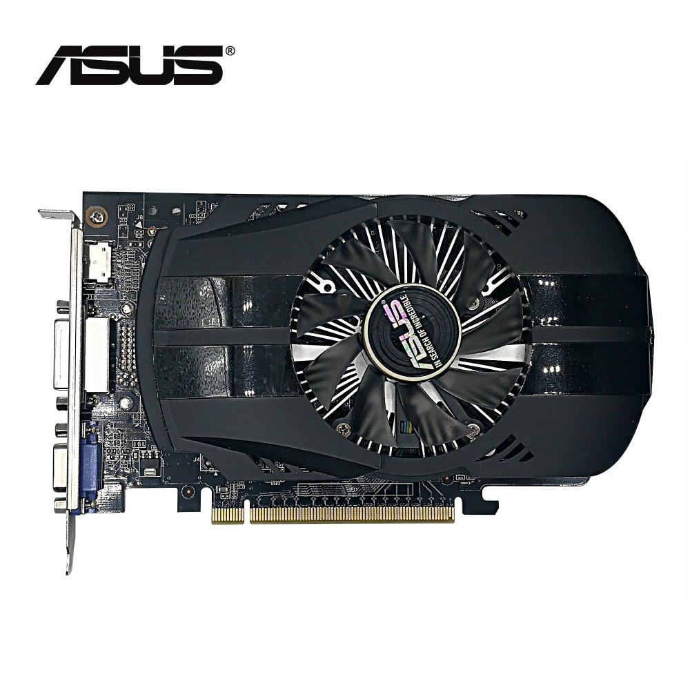 ¡Segunda Mano, 2 unids/lote ASUS GTX 750 1G DDR5 128bit HD tarjeta...