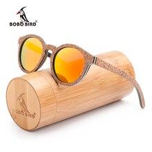 BOBO BIRD-lunettes de soleil en bois femme   gafas de sol, nouvelle collection originale, verres polarisés, UV400 okulary