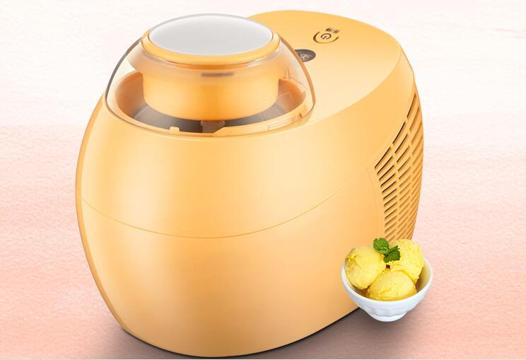 chinafuxin home full automatic ICM-500A mini icecream machine household SELF-COOLING DIY ice cream maker 0.5L 110-220-240V недорого
