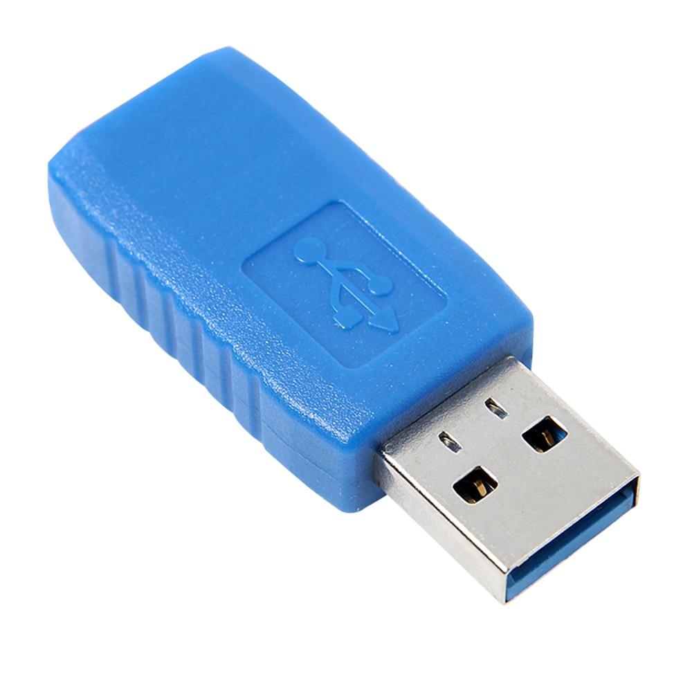 USB 3,0 tipo A macho A USB 3,0 hembra conector adaptador acoplador género cambiador adaptador Cable precio de fábrica Dropshipping