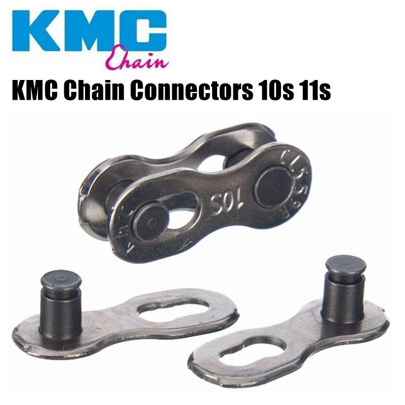 Conectores de corrente kmc 10 11 correntes de velocidade fivela mágica compatível com correntes de campagnolo shimano sram