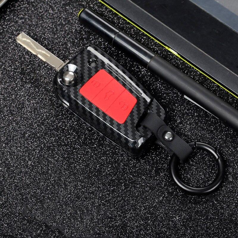 ABS de fibra de carbono funda de llave de control remoto para...