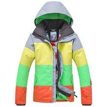 شحن مجاني غسو رجل الثلج التزلج ارتداء تنفس و مقاوم للماء يندبروف تزلج سترة الرجال الشتاء الرياضة تزلج دعوى على الجليد دعوى