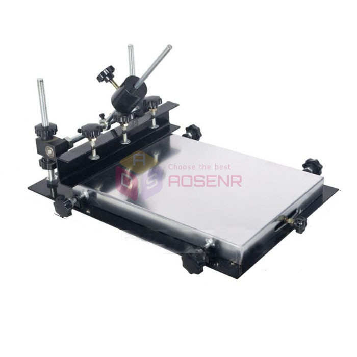M Tamaño 440x320mm seda máquina de impresión Manual soldadura pasta impresora PCB SMT plantilla impresora