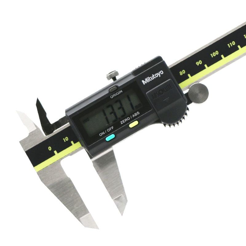 Mitutoyo 500-164-30 فرجار رقمي مقياس مطلق 0-200 مللي متر/8 بوصة قياس مدى 0.01 مللي متر/.0005in القرار