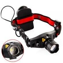 Lumineux 4 Modes Q5 LED 1000 Lumens phare Camping lampe frontale zoom Focus Portable projecteur lampe de poche pour la chasse AAA