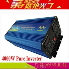 Onduleur pura 4000W DC12V/24V/48V   Onduleur sinusoïdale onda, convertisseur pur AC220V 8000W, puissance de pointe, CE ROSH FCC