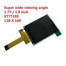 1.8inch 128160 lcd-scherm panel TFT kleurrijke ST7735S SPI 4 draad Seriële 14 Pin Plug-in brede visuele 0.5mm connector