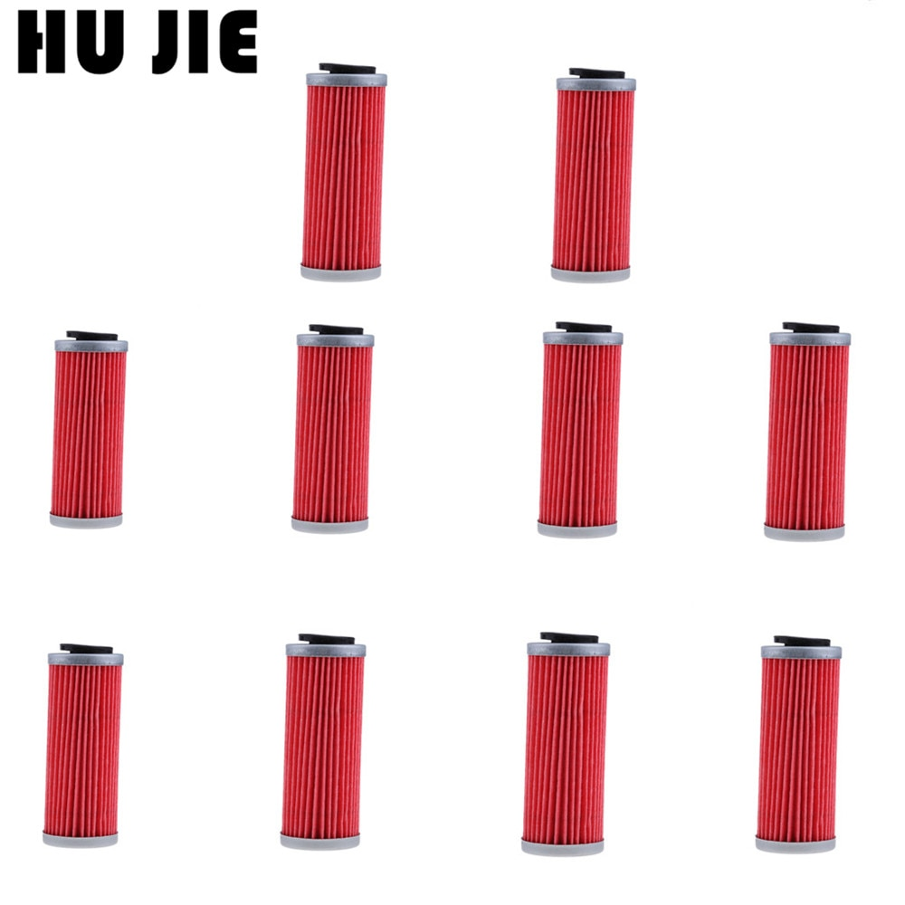 10 x filtro de aceite para motocicleta para Husqvarna FE250 2014-2015 FC350 2015 FE350 2014-2015