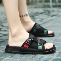 2020 slippers for men casual sandals mens flip flops casual patch breathable men sandalias hombre beach slippers for men summer