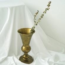 Dulgo-vase de fleur séché style vintage   ins, hauteur de 33.5cm, fournisseur de fleur, arrangement du navire de fleur, organe de fleur, décoration de la maison