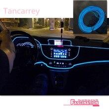 Phares dambiance intérieur pour Kia   Style de voiture, pour Kia Rio K2 Sportage Soul Mazda 3 6 Lada Skoda Octavia A5 A7, superbes accessoires