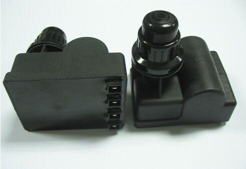 Batería Electrónica de 1,5 V CC botón de encendido de gas, 4 tomas conectores gas barbacoa ignitor para horno, generador de encendido por chispa de gas