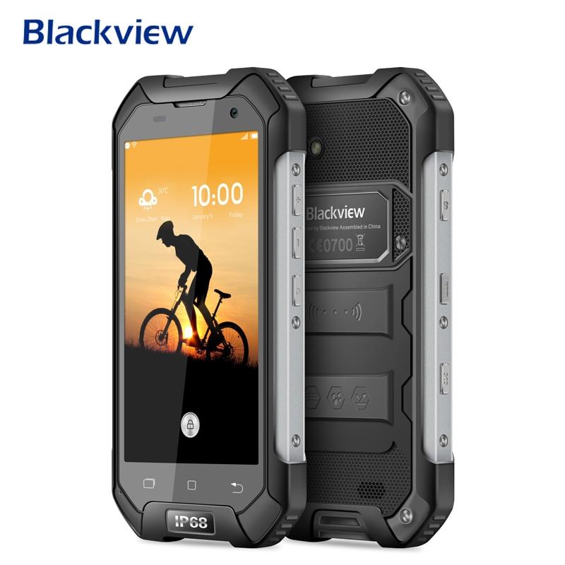 Blackview a BV6000 Smartphone IP68 impermeable 4,7 pulgadas 4G LTE móvil teléfono MTK6755 Octa Core 3G RAM 32G ROM 13.0MP NFC celular