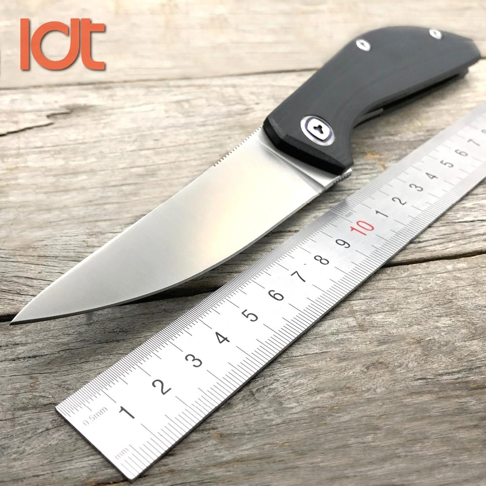 LDT Sigma F111 Tactical Folding Knife D2 Blade G10 Handle Ball Bearing Knives Survival Hunting Pocket Knife EDC Tools
