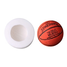 Neue 3D Basketball Silikon Formen Fondant Kuchen Dekorieren Werkzeug Schokolade Candy Mould Party Kuchen Mold Lehm Seife Silikon Formen