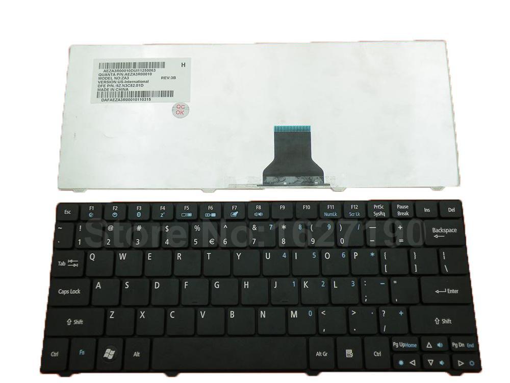 Teclado de ordenador portátil, accesorio para ACER como ONE 751 1410 1810T...