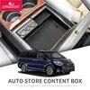 Smabee – boîte d'accoudoir central de voiture pour Toyota Sienna 2011 ~ 2018 30 XL30 organisateur de Console centrale de rangement noir