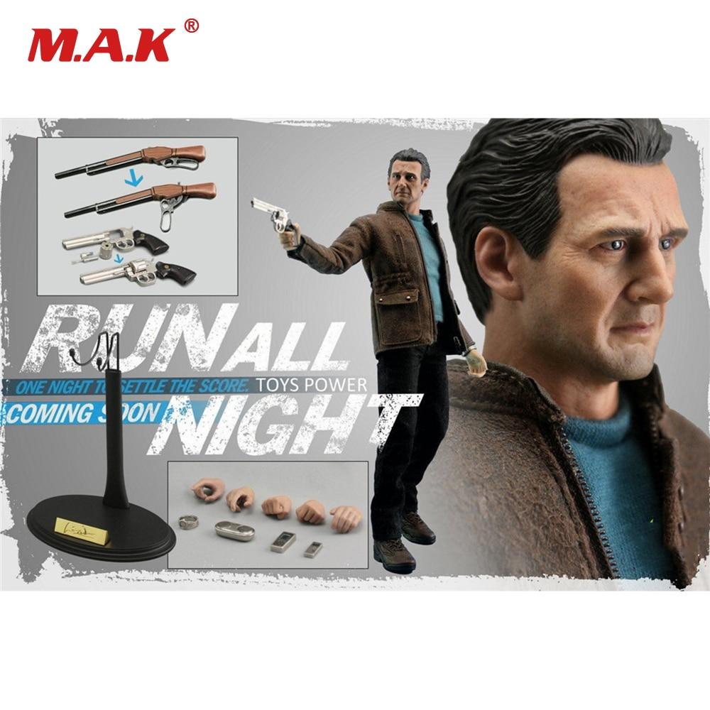 Figura de acción de Stan Neeson, escala 1/6, Set completo, figura de acción para correr toda la noche, figuras coleccionables de Brian Mills CT005, juguetes para regalo