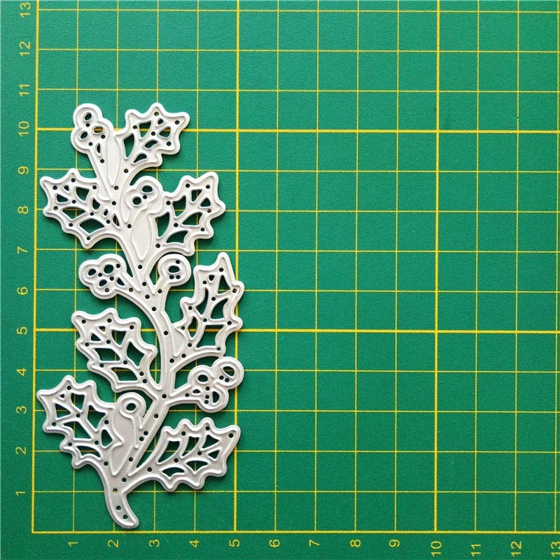 New natural leaves paper craft  Metal Cutting Dies Stamp Scrapbooking Decoretive Embossing Stencial photo album home decoration
