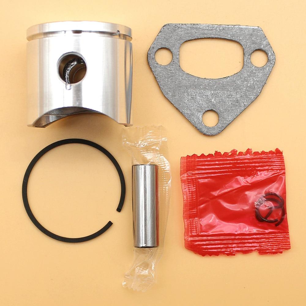 38mm Piston Ring Muffler Gasket Kit For Husqvarna 136 136LE 137 137E 36 142 142E Chainsaw Engine Motor Parts