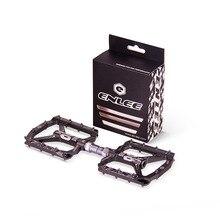 Pedal de bicicleta ultraligero todo CNC mtb DH XC pedal de bicicleta de montaña L7U Material + pedales de aluminio con rodamiento DU