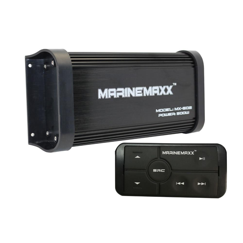 Amplificador de Audio con Bluetooth para coche, dispositivo estéreo MP3, USB, AUX,...