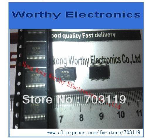 10 unids/lote FT232RL FT232 SSOP-28