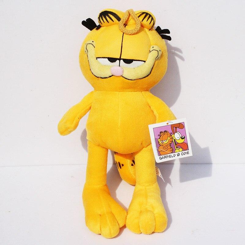30cm adorable película caricatura Garfield gato suave peluche juguetes muñeca