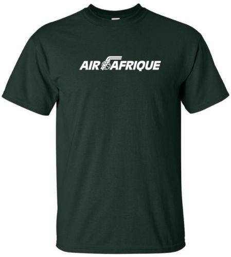 Air Afrique Logo Retro de Côte d Ivoire de aviación Aerolíneas Camiseta cuello redondo Camiseta sudaderas con capucha